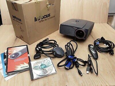 InFocus LP435Z DLP Projector 1000 Lumens 1024 x 768 400:1 - 1726 Lamp Hours