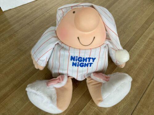 Vintage 1986 American Greetings ZIGGY Character Nighty Night Plush Doll PJ