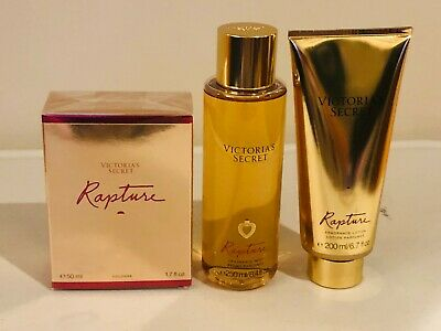 Victoria's Secret Rapture Perfume Cologne 1.7 oz Perfume Body Mist Body Lotion