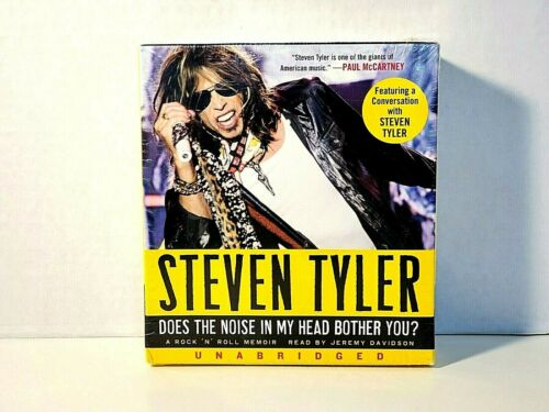 STEVEN TYLER DOES THE NOISE IN MY HEAD BOTHER YOU? Memoir NEW Factory Sealed