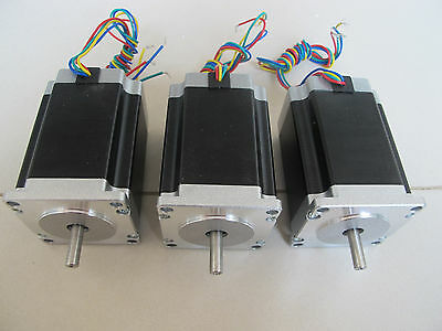 Cnc Kit 3axis 82mm 290oz-in Nema23 Stepper Motor Stepping Motor For Cnc Router