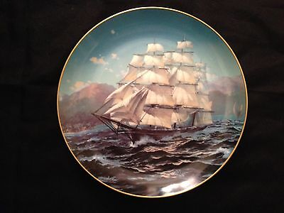 The Great Clipper Ships Plate Collection: Challenge, Franklin Mint 1981