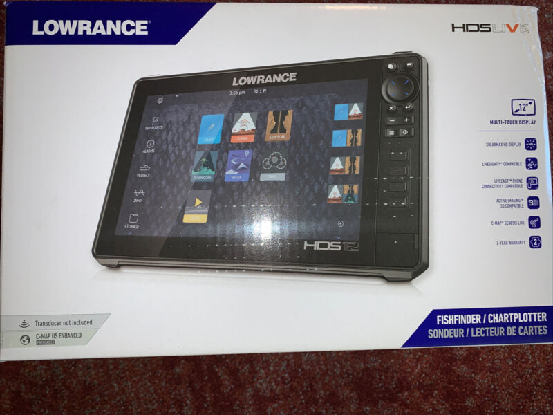 Lowrance HDS 12 Fish Finder - 00014427001 Brand New
