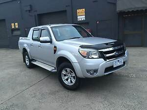 2009 Ford Ranger Pk XLT Hi-Rider AUTO TURBO DIESEL West Footscray Maribyrnong Area Preview