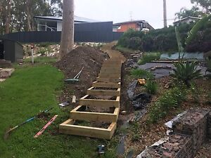 TJ'S EARTHMOVING & LANDSCAPING HUNTER VALLEY & NEWCASTLE REGO Adamstown Heights Newcastle Area Preview