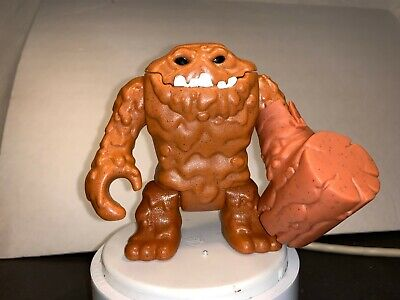 IMAGINEXT CLAYFACE RARE DC FIGURE FISHER PRICE MATTEL BATMAN WITH HAMMER