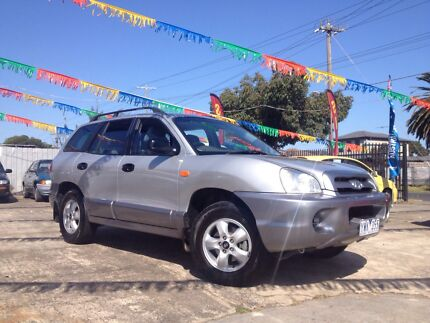 2004 HYANDAI SANTE FE 4WD WAGON CHEAP FAMILY CAR!!! South Kingsville Hobsons Bay Area Preview