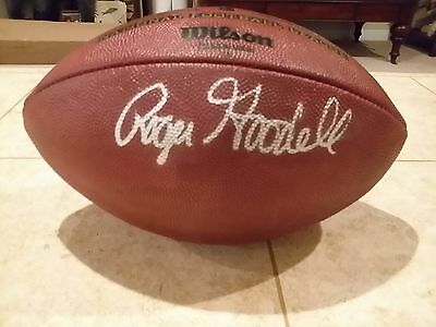 Roger Goodell Autographed Game Used Ball Issued To Sd Chargers Psa Dna Qb Ball