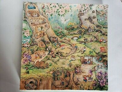 Vintage Springbok Merry Mousetown Jigsaw Puzzle Over 500 Pieces Puzzles Games