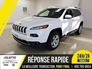 2014 Jeep Cherokee Limited, 4X4, V6, CUIR, TOIT!