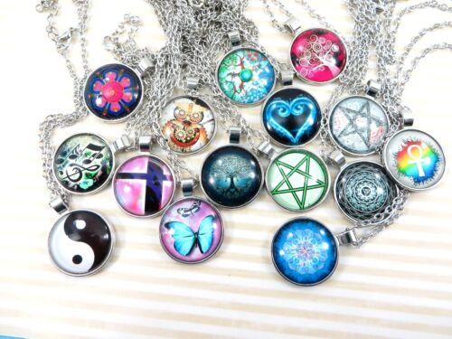 24 pieces  hippie necklace wholesale jewelry bulk lot