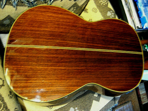 "NICE ""Brazilian Rosewood"" C-128 Takamine Acoustic Classical Guitar, Japan + Case"