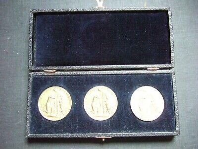 3 x medaille des deutschen volkes leidensweg inflation in original etui online kaufen