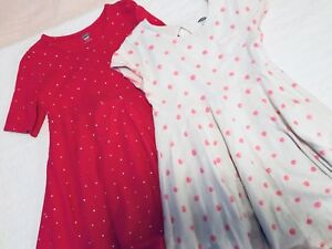 Toddler girl cotton dresses. Size 5T