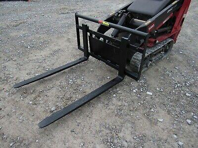 Toro Dingo Mini Skid Steer Attachment New 42 Pallet Forks - Ship For 179