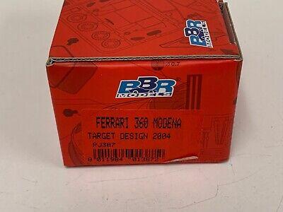 1/43 BBR kit Ferrari 360 Modena Target Design 2004 PJ387