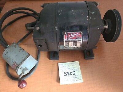 Atlas Craftsman Lathe 1012 Orig Atlas Superpower Motor Wpulleydrum Switch