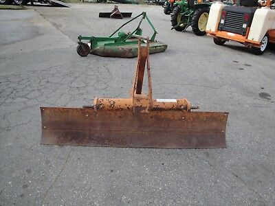 Nice Woods Rb72  6 Foot Angle And Tilt 3 Point Hitch Scrape Blade