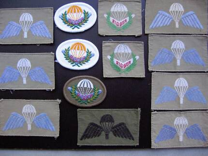 Genuine Australian Army Cloth Parachute Wings and Brevets Nowra Nowra-Bomaderry Preview