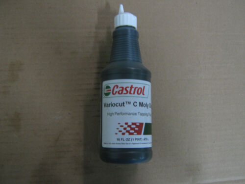 """1 Pint of Castrol Moly-Dee CF (Variocut C) Cutting Tapping Fluid (MOLY-D) """"NEW"""""""