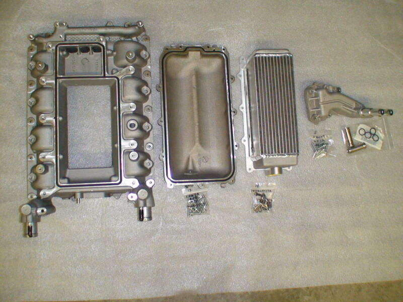 07-14 Shelby GT500 supercharger lower intake manifold kit , intercooler 5.4 5.8