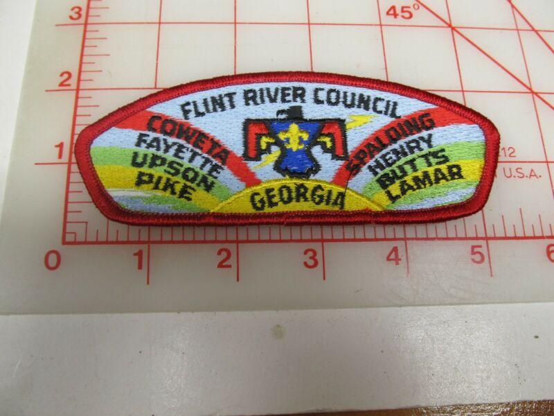 Flint River Council CSP collectible PB patch (o34)