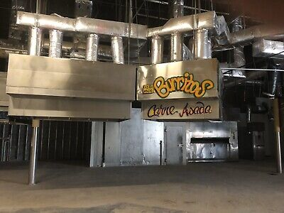 5ft. Type 1 Captive Aire Commercial Restaurant Kitchen Hood-exhaust Blowermu