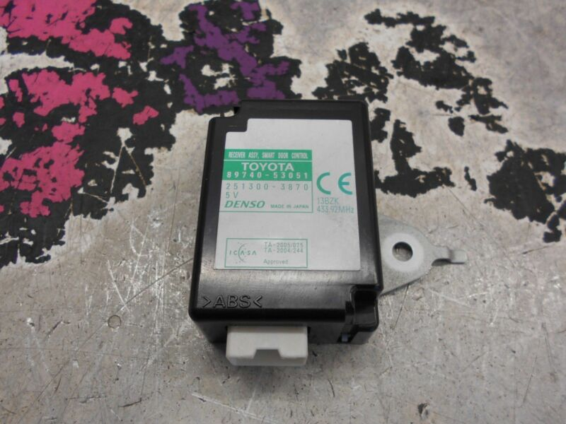 LEXUS IS 220D SMART DOOR CONTROL RECEIVER RELAY ECU  05-13