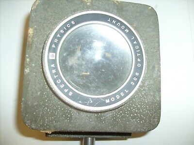 Spectra Physics Model 306 Optical Mount - Lens - Vintage Lab Equipment