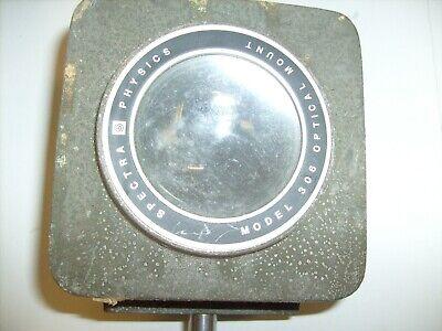 Spectra Physics Model 306 Optical Mount - Lens - Vintage Lab Equipment