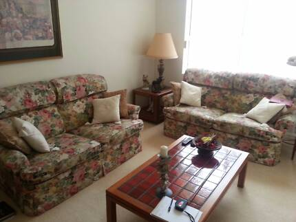 2 Matching 2 seater sofas Sans Souci Rockdale Area Preview