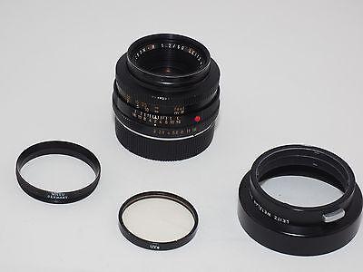 Vintage Leica Summicron-R 50mm f/2 lens. 2 cam. Film & Digital. Sony, Fuji.