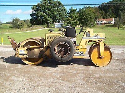 2001 Ferguson 46a Asphaltstone Roller Wtow Pac Diesel Hydro Drive Video
