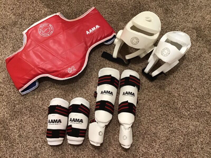 World Traditional Martial Arts Association Sparring Equipment