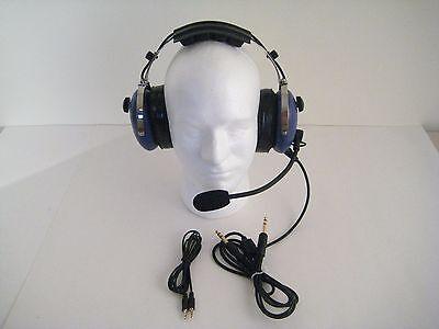 SL-900MC Blue SkyLite Aviation Child's Headset  Gel Seal with Flight Bag MP3