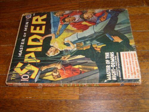 vintage SPIDER PULP, SEPTEMBER 1940