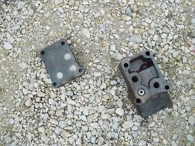 Farmall 460 560 Rc Tractor Ih Hydraulic Front Block Cov For Valves Behind Dash