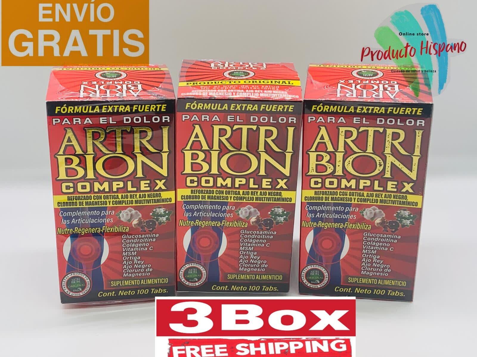 3 BOX ARTRIBION VITAMINADO COMPLEX 300 TABS