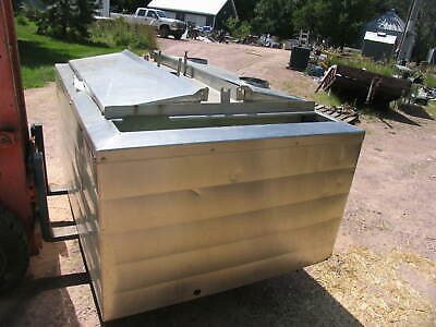 250 Ga Stainless Steel Haverly Hb250 Milk Dairy Cooling Tank Brewery Live Bait