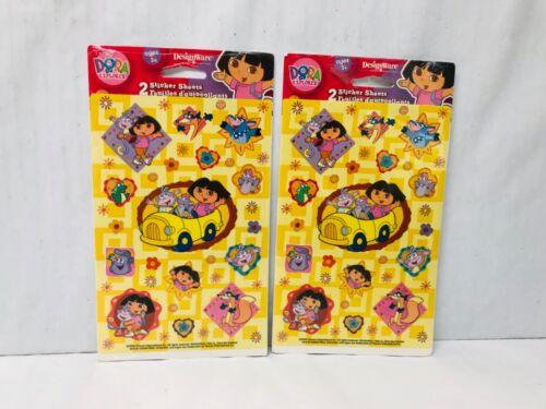Dora the Explorer Stickers 2 Sealed Packs 2004 Viacom New old Stock Dora & Boots