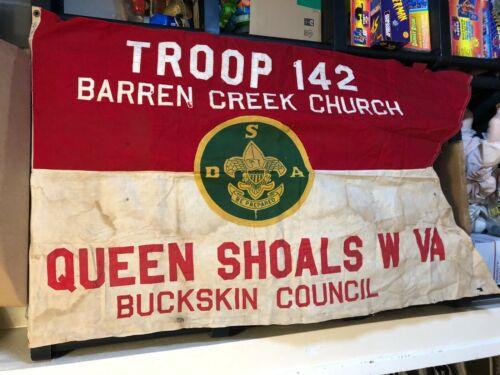 Vintage BOY SCOUTS OF AMERICA Queen Shoals WV Troop 142 5