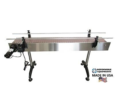 Dependable Equipments Conveyor 6 X 4 With Plastic Table Top Belt