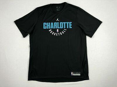 Jordan Charlotte Hornets - Short Sleeve Shirt (Multiple Sizes) Used