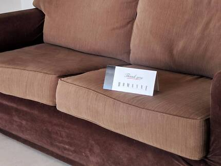Sofa Bed 3 Seater - Domayne quality, inc protective cover