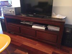 tv stand from solid wood Maroubra Eastern Suburbs Preview