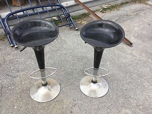 Pair of retro style bar stools $45 each