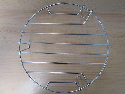 Grillrost für Mikrowelle mit 21 cm. Durchmesser und Höhe 9,2 cm