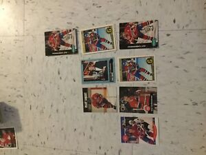 Guy Carbonneau 90's 91's 92's hockey cards