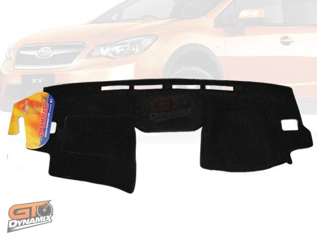 DASH MAT Subaru XV + Impreza 02/2012 to 2015 DM1259 in Charcoal or Black