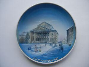 Rosenthal-Plato-de-navidad-1987-Munich-Nationaltheater-Mi-ARTE-N-1987-1